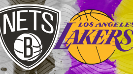 Nets and Lakers Logo