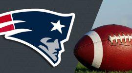 Patriots Logo and Football