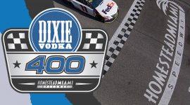 Miami Speedway and Vodka 400 Logo