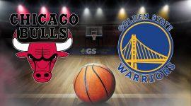 Bulls Logo and Golden State Warriors Logo