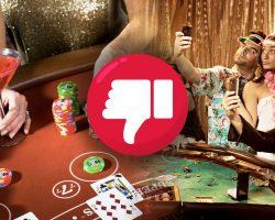 Bad Casino Etiquette