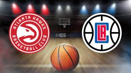 Hawks Logo and Clippers Logo