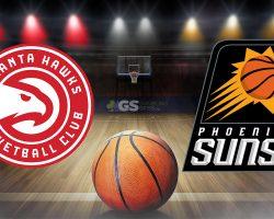 Hawks Logo and Suns Logo