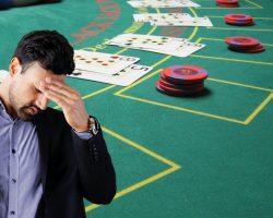 Man-upset-table-game