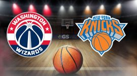 Wizards Logo and Knicks Logo