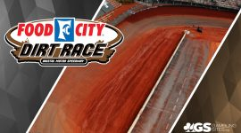 Food City Dirt Race Logo and Bristol Speedway