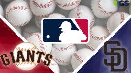 Giants Logo and Padres Logo