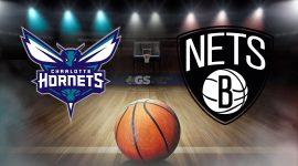 Charlotte Hornets Logo and Brooklyn Nets Logo