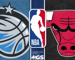 Orlando Magic Logo and Chicago Bulls Logo