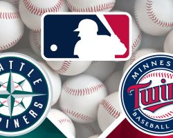 Mariners Logo and Twins Logo