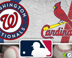 Washington Nationals Logo and St. Louis Cardinals Logo