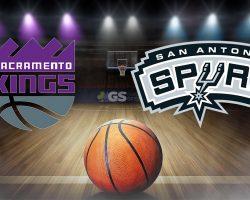 Sacramento Kings Logo and San Antonio Spurs Logo