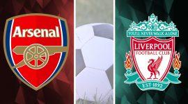 Arsenal Logo and Liverpool Logo