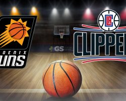 Suns Logo and Clippers Logo
