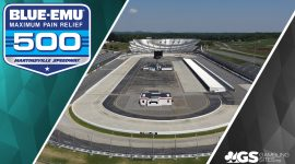 Blue-Emu Maximum Pain Relief 500 and MArtinsville Speedway