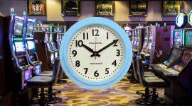 Casino Late Night Clock