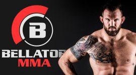 Ryan Bader and Bellator Logo