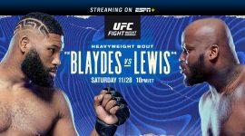 UFC Blaydes Vs Lewis
