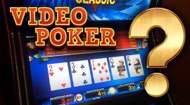 Video Poker in Casinos