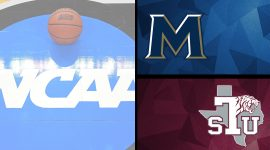 Mount St. Mary's and Texas Southern Logos