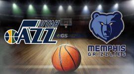 Jazz Logo and Grizzlies Logo