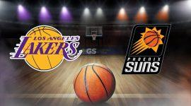 Lakers Logo and Suns Logo