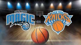 Magic Logo and knicks Logo