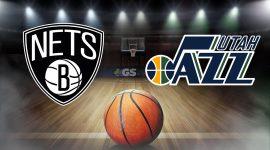 Nets Logo and Jazz Logo