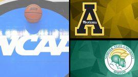 Appalachian State vs. Norfolk State Logos