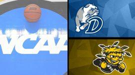 Drake Bulldogs Logo and Wichita State Logo