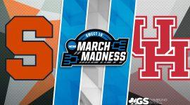 Syracuse Logo and Houston Logo