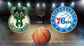 Bucks Logo and 76ers Logo