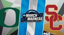Oregon Logo and USC Logo