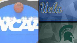 UCLA Logo and Michigan State Logo