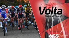 Volta a Catalunya Logo and Racers