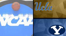 UCLA Logo and BYU Logo