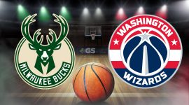 Bucks Logo and Wizards Logo