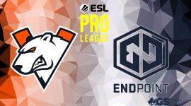 Virtus.pro Logo and Endpoint Logo
