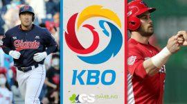 KBO Logo and Players