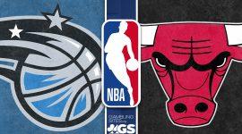 Orlando Magic Logo and Chicago Bulls Logo