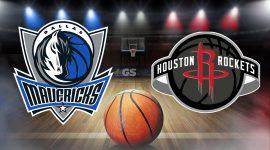 Mavericks Logo and Rockets Logo