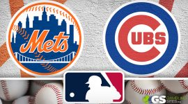 Mets Logo and Cubs Logo