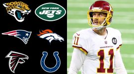 Alex Smith and NFL Team Logos