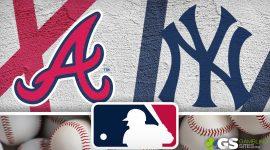 Braves Logo and Yankees Logo