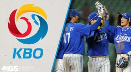 KBO Logo and Samsung Lions