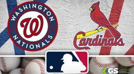 Washington Nationals Logo and St. Louis Cardinals Logo