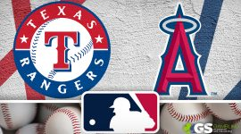 Rangers Logo and Angels Logo