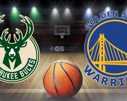 Bucks Logo and Golden State Logo
