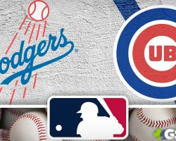 Dodgers Logo and Cubs Logo
