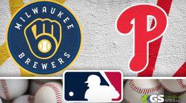 Milwaukee Brewers Logo and Philadelphia Phillies Logo